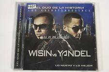 El Duo La Historia Wisin Vs Yandel  Lo Nuevo Y Lo Mejor Music CD