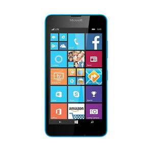 Nokia Microsoft Lumia 640 RM-1090 Windows Smart Phone 8GB Blue UK SHIP Unlocked