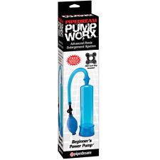 Pump Worx Beginner's Pump Blue  NEW Discreet Shipping