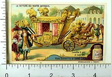 1880's Historic Vehicles Scenes Lovely Liebig Victorian 6 Trade Card Set K55