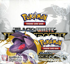 Pokemon Black & White Legendary Treasures Brand New Factory Sealed Booster Box