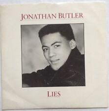 "Jonathan Butler - Lies - Jive Records Picture Sleeve 7"" Single JIVE 141 EX/VG"