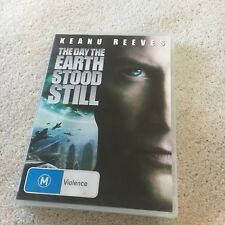KEANU REEVES. THE DAY THE EARTH STOOD STILL DVD.