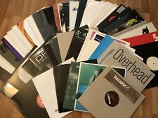 Lot of 50 HOUSE/BREAKS/D+B/TRANCE/CHILLOUT dj vinyl records ALL MINT! LISTEN!!!