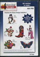 Amazing Designs Embroidery Solutions CD Collection Software Win 98/Millennium/XP