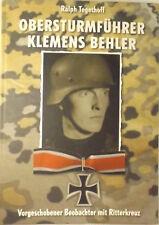 Ritterkreuzträger Ostfront LAH Obersturmführer Klemens Behler Korps Steiner