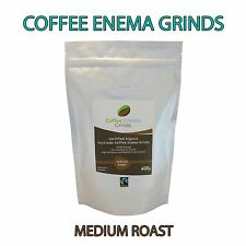 COFFEE ENEMA GRINDS MEDIUM ROAST ORGANIC FAIRTRADE GERSON AIR ROASTED 400g Aus