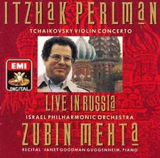 Tchaikovsky: Violin Concerto - Perlman/Mehta - Israel Philharmonic - CD