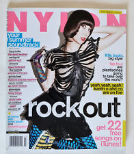 NYLON Magazine: July 2009,Music Issue, Adele, Lissy Trullie, Santigold .. Etc.