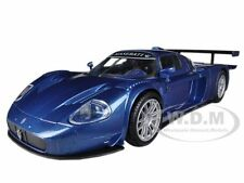 MASERATI MC12 MC 12 CORSA BLUE 1/24 DIECAST MODEL CAR BY MOTORMAX 73360