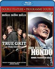 BRIDGES,JEFF-TRUE GRIT/HONDO  Blu-Ray NEW