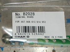 Hakko B2028 terminal board for 907, 908,913,914,953 New