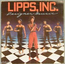 "♫ 33 T  VINYL LIPPS, INC. "" DESIGNER MUSIC "" ♫"