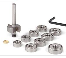 Guitar Binding Router Bit with 9 Bearing Set for Luthier