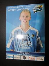 1416 Chemnitzer FC CFC Marco Wölfel 2006 - 2007 original signierte AK