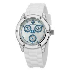 Armbanduhren aus Silikon/Gummi mit Mineralglas-Funktion für Damen