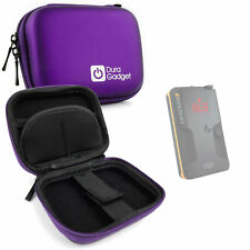 Hard EVA Case in Purple for Pieps DSP Pro, BCA Tracker 3 Avalanche Transceiver