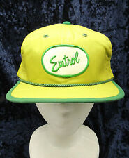 Vintage Emtrol Patch Front Green 6 Panel Trucker Velcro  Hat Cap Med to Large