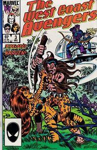 WEST COAST AVENGERS (1985) #3 - Back Issue