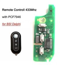 Chiave Completa Chip elettronica FIAT 500 PUNTO evo PANDA 433Mhz bsi delphi