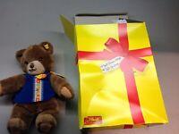 "Vintage Circa 1982 Toldi STEIFF Teddy Bear Stuffed Plush Animal 12"" SOFT"
