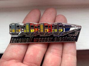 Class 442 Farewell Wessex Electrics Pin Badge