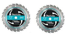 "Makita 184mm 7-1/4"" 24 Tooth Tungsten Circular Saw Blade A-94839 Bss611 Dc390"