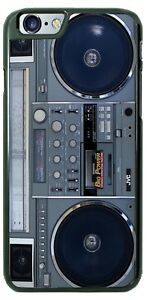 Boombox Cassettte Player Jambox Vintage Phone Case Cover Fits iPhone Samsung etc