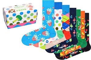 Happy Socks - 7 Days Socks Gift Set - Box - 7er Pack
