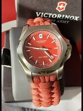 Victorinox Swiss Army I.N.O.X. Paracord 241744.1 Red Survival Men's Watch