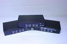 3 STARTECH SV431USBAE 4-PORT RACK MOUNT USB KVM SWITCH!