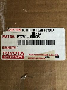 SIENNA 2004-2010 TOW HITCH MOUNT OEM TOYOTA PT791-08035