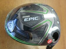 Slightly Used Callaway Golf GBB EPIC 9 Driver Project X 6.0 Graphite S Flex Mens