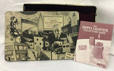 """Zippo Lighter Collectible Tin """"We Remember"""" Holds 10 Lighters with Booklet"""