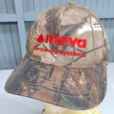 MEVA Formwork Systems Camo Adjustable Baseball Cap Hat