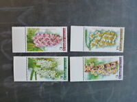 2005 THAILAND ORCHIDS SET 4 MINT STAMPS MNH