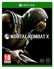 Mortal Kombat X - Xbox One MINT Condition - FAST & FREE DELIVERY