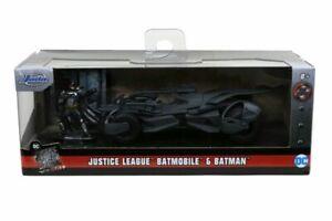 Justice League Movie - Batmobile with Figure 1:32 Scale Hollywood Ride-JAD317...