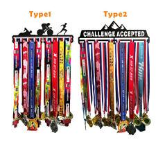 Medal Holder Hanger Metal Steel Display Rack Ideal Running Sport Gift Home  LL