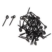 50 x Angeln Köder Boilie Karpfen-Fischköder Schrauben Köderschrauben mit Ring