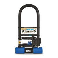 Oxford Alarm D Max 320mm x 173mm x 14mm Alarm Motorcycle Motorbike Lock Security