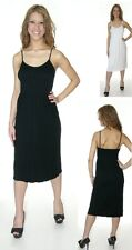 WHITE BLACK TANK SUMMER COCKTAIL DAY EVENING WEAR DRESS ONE SIZE S-XL 90 160