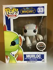 Funko Pop #33 -World of Warcraft - Murloc (White) Gamestop-EXCLUSIVE