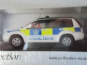 NISSAN X-TRAIL ROYAL BARBADOS POLICE FORCE 2008, NEW 1:43 Scale J Collection 221