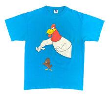 Vintage 90s 1998 Six Flags Looney Tunes Foghorn Leghorn Henery Hawk Shirt Size L