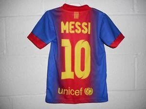 Qatar Fundacion #10 Messi Youth Jersey S/XS? Size 4