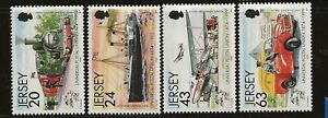GB - JERSEY Sc 884-87 NH issue of 1999 - TRTANSPORTATION