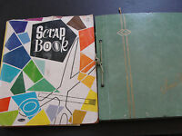 Vintage Set of (2) Scrapbook's with Original Travel brochures, ads for 1960's !