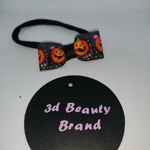 Pumpkin Head Bopper Headband Halloween Fancy Dress Costume Accessory Prop