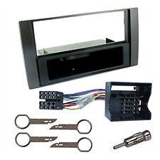 Kit montaggio autoradio 1 DIN con cassetto nero per FORD C-MAX / FIESTA / FOCU
